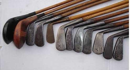 Hickory-golf-clubs