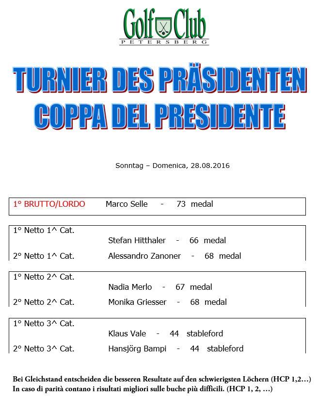 President-premiati