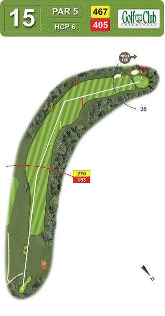 Hole 15 - 15