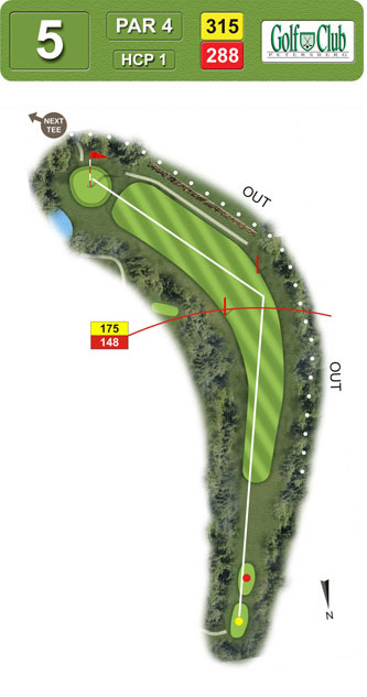 Hole 5 - 5 - -