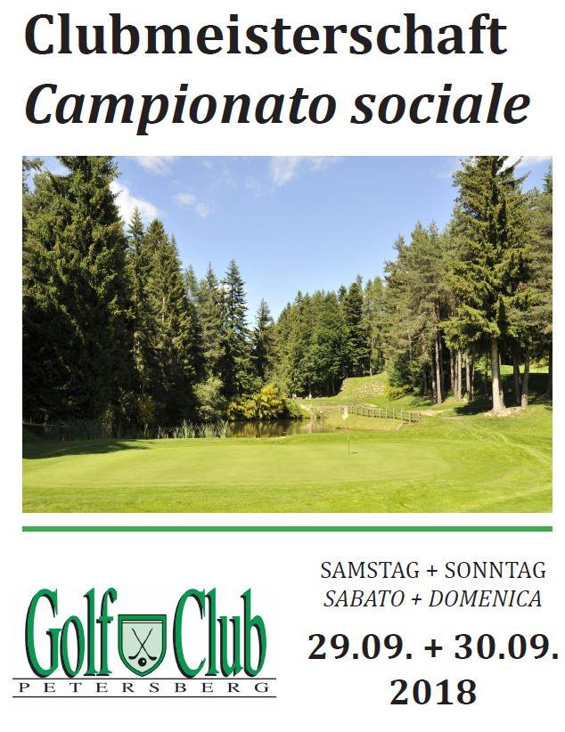 CLUBMEISTERSCHAFT - CAMPIONATO SOCIALE CM CS 1