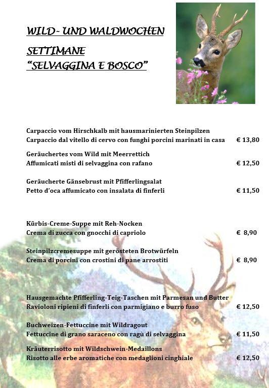 Wildwochen 2018 1 - Restaurant