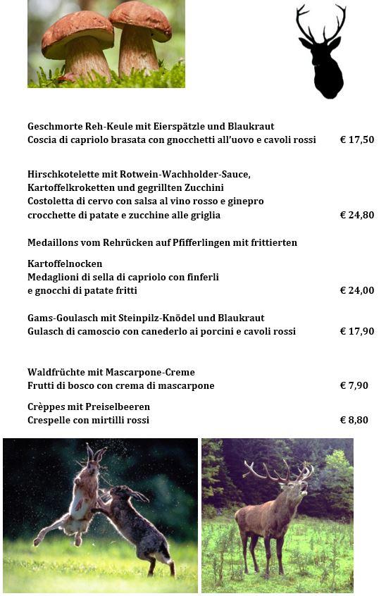 Wildwochen 2018 2 - Restaurant