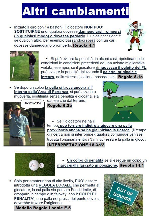 Cambiamenti 16 - Regole e regole locali - -