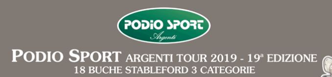 PODIO SPORT GOLF TROPHY Podio Sport Tour
