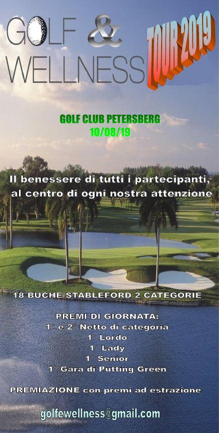 GOLF & WELLNESS TOUR 2019 golf wellness august