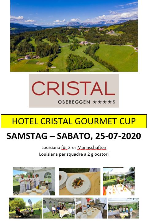 THE CHEFS ON THE GREEN - HOTEL CRISTAL GOURMET CUP Gourmet cup