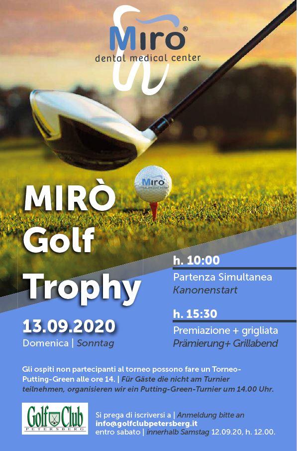 MIRO GOLF TROPHY Miro Golf